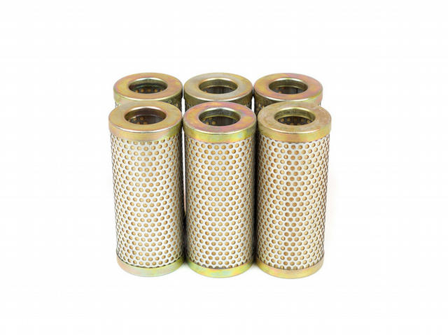 Oil Filter Elements - 4-5/8in x  8 Micron (6)