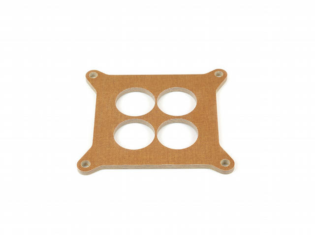 Phenolic Carb Spacer - 1/4 Thick 4-Hole
