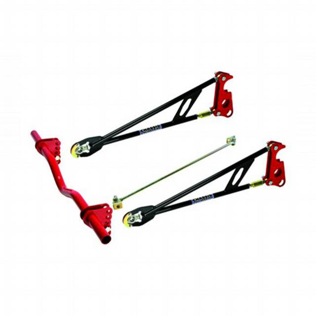 Ladder Bar Suspension Kit w/Round X-Member