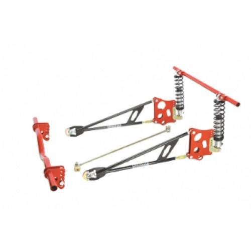 Ladder Bar Suspension Kit w/Shocks