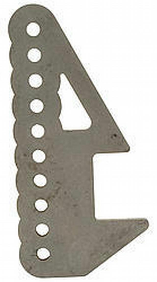 Adjustable Lower Shock Mount Bracket - 9in Ford