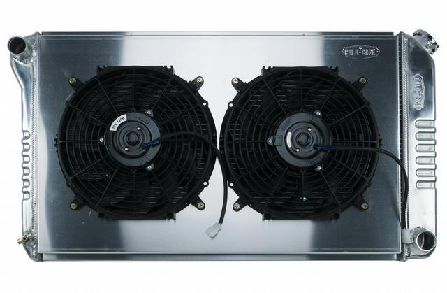 68-72 A-Body Radiator MT Dual 12in Fan