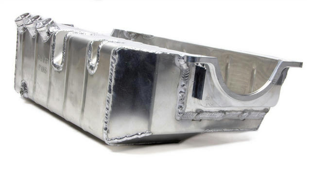 SBC Alumimun Oil Pan - Dry-Sump w/6in. Depth