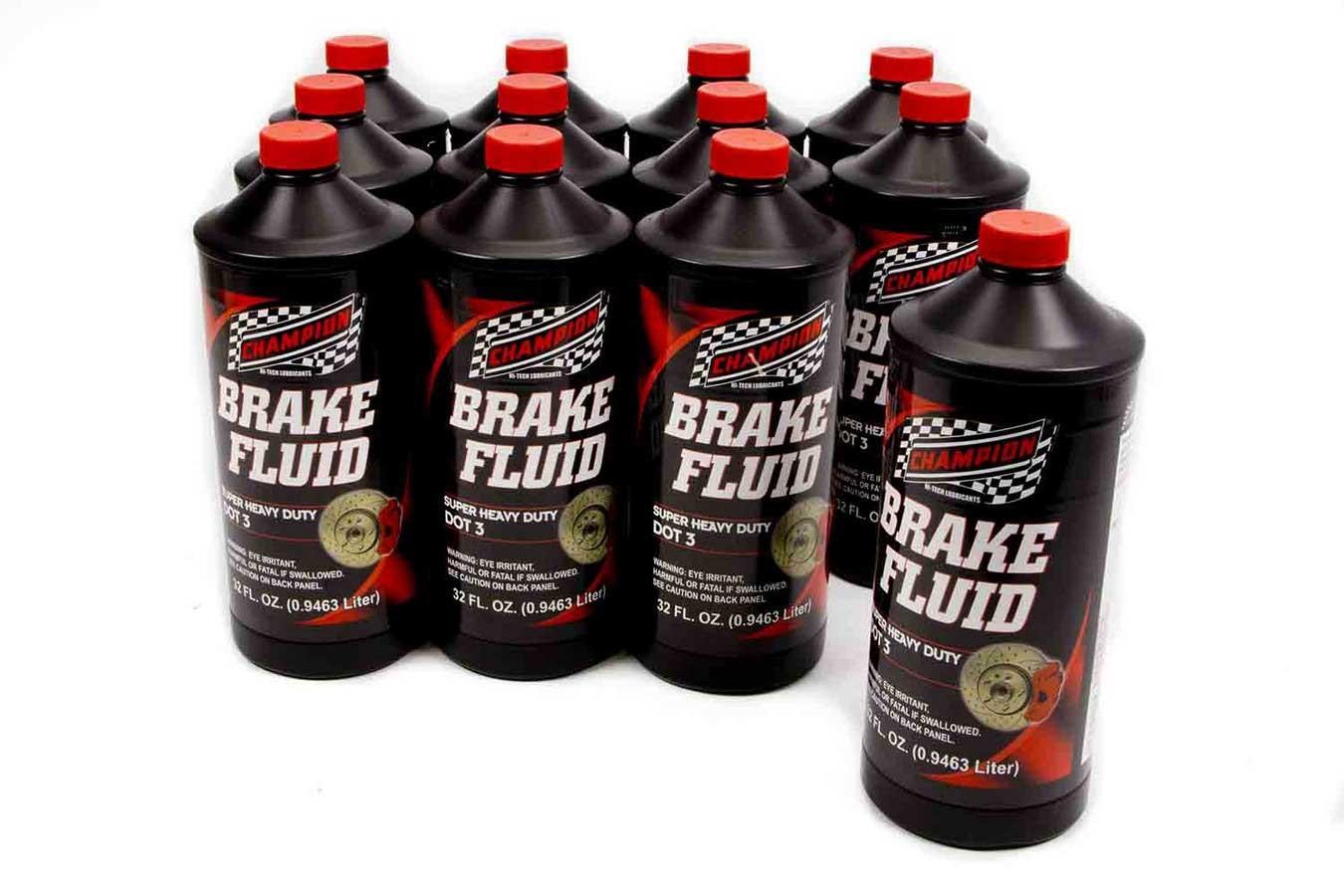 Brake Fluid DOT 3 12x1Qt