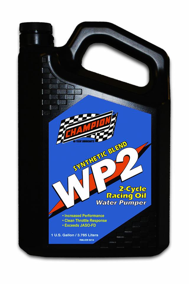 WP2 2 Cycle Racing Oil JASO FD 1 Gallon