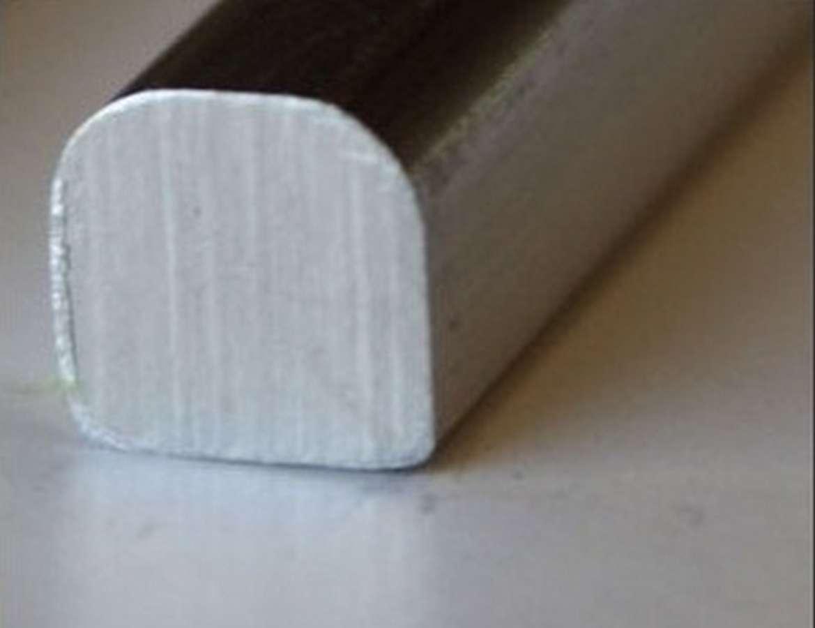 Aluminum Trim Smooth 4 Ft.