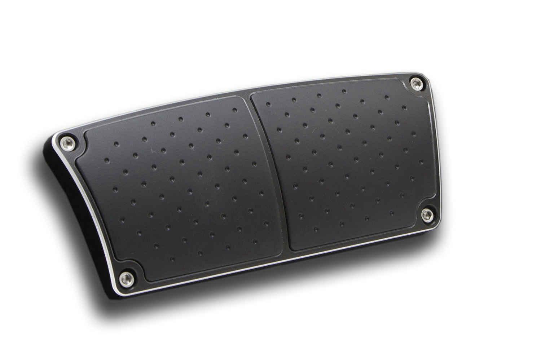 Billet Brake Pedal Cover Black