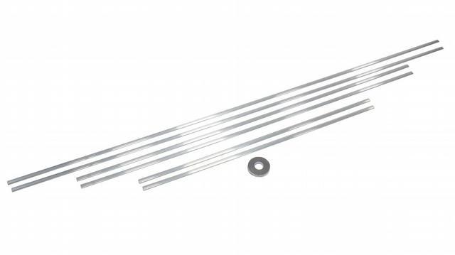 Ribbed Exterior Aluminum Trim Kit