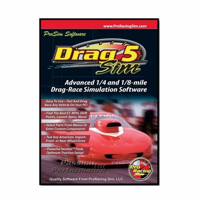 Software - Drag Sim 5