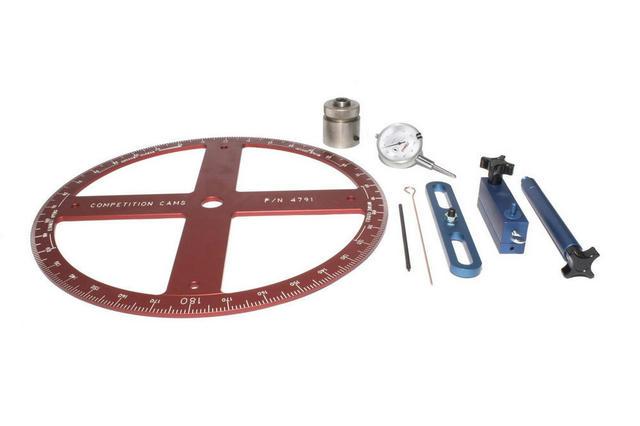 Cam Degree Wheel Kit