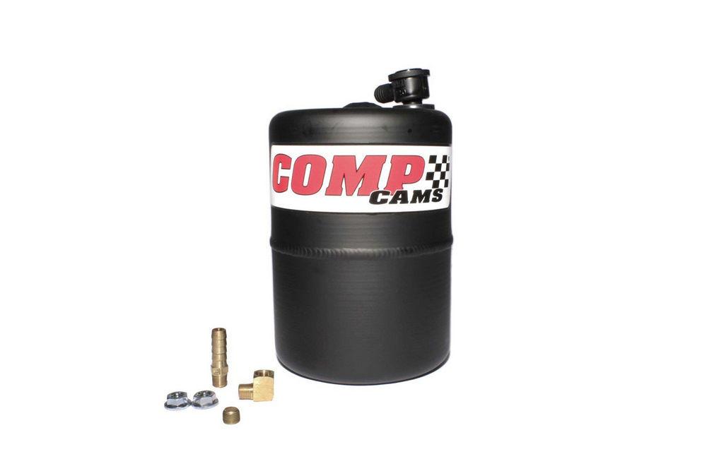 Vacuum Canister Aluminum Black Powder Coated