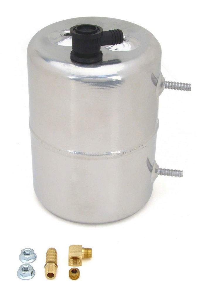 Vacuum Canister Aluminum Zinc Plated & Polished