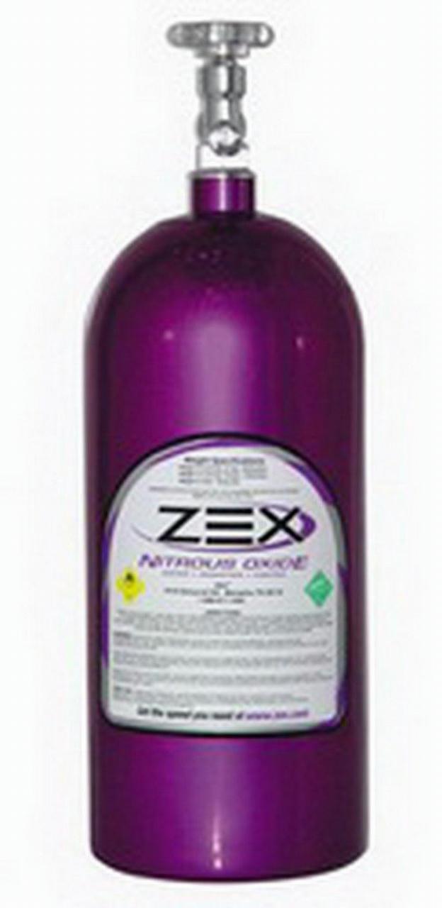 10lb. Nitrous Bottle w/ Valve - Purple