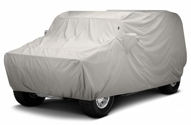 20-   Jeep Gladiator Car Cover Custom Fit Tan