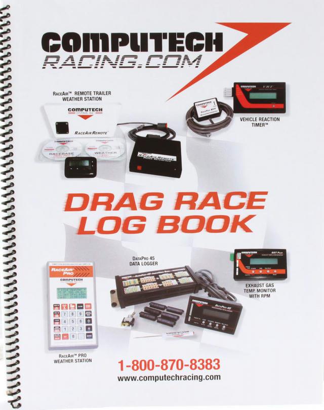 Drag Race Log Book