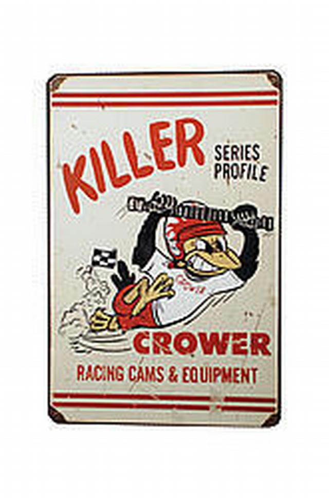 Crower Killer Profile Sign