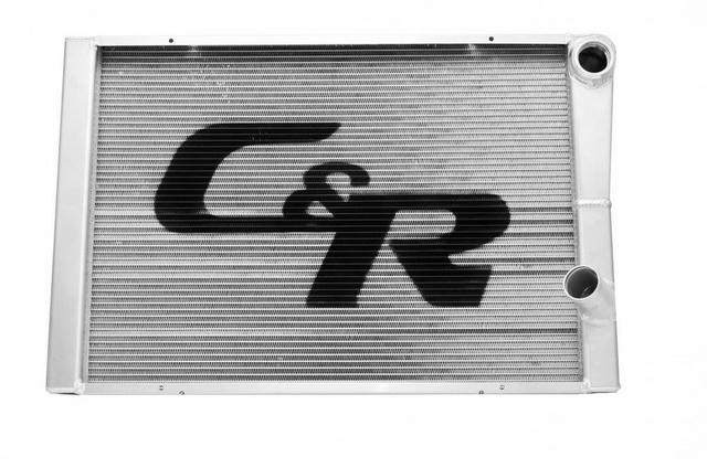 LW Radiator Chevy 19x28 Dual Pass No Filler