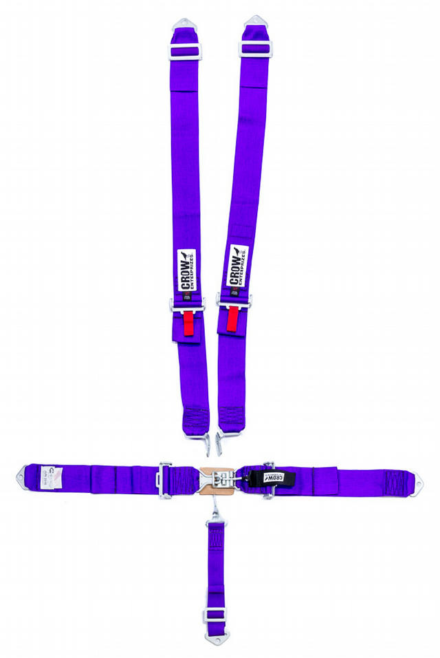 5-Pt Harness Small Latch Purple Bolt In Pull Down