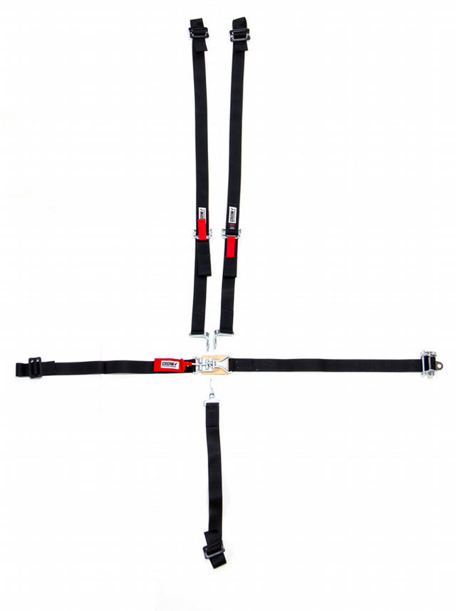5-Pt Harness System LL 2in Ratchet And Belts