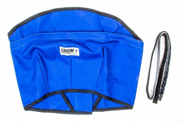 Helmet Skirt Blue Velcro Attachment