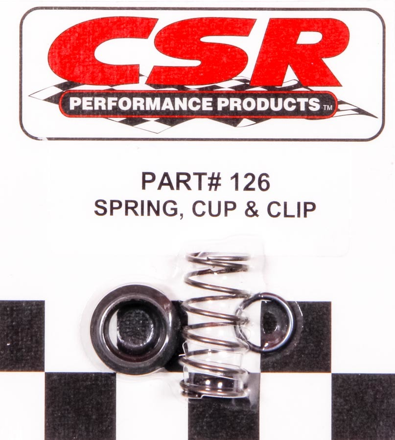 Spring  Retainer Cup & Clip