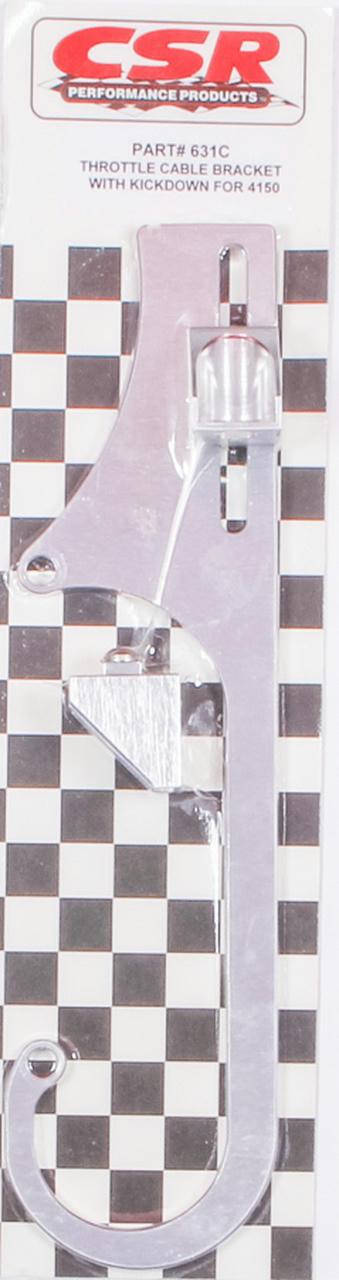 Throttle Cable Bracket w/Kickdown - 4150