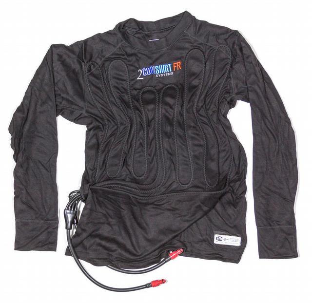 2 Cool Shirt Black Med SFI 3.3