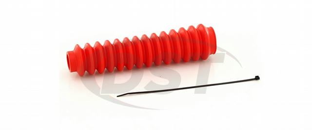 Single Shock Boot & Zip Tie Bagged Red