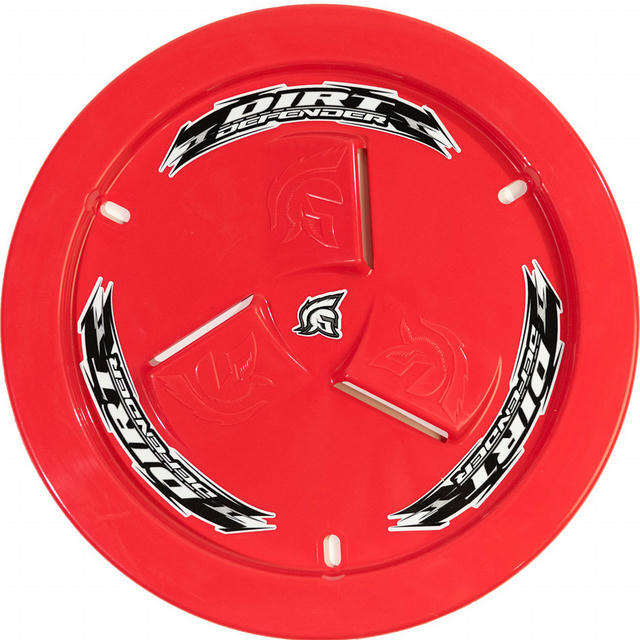 Wheel Cover Red Vented
