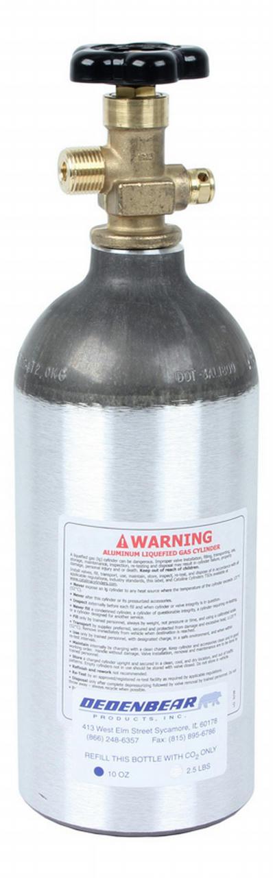 2.5lb. CO2 Bottle w/Valve