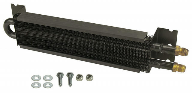 Frame Rail Cooler 12in Long  AN-6 Inlets