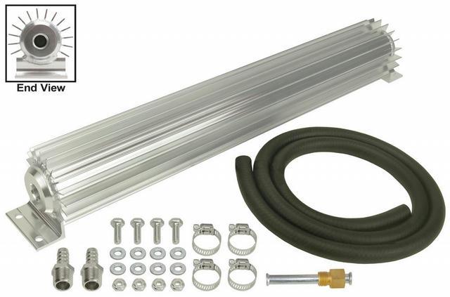 Heat Sink Trans Cooler 18in Long 3/8in NPT Inle