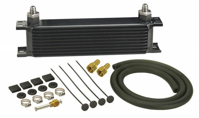 Trans Cooler 3x13x2 3/8in FPT GVW 20000