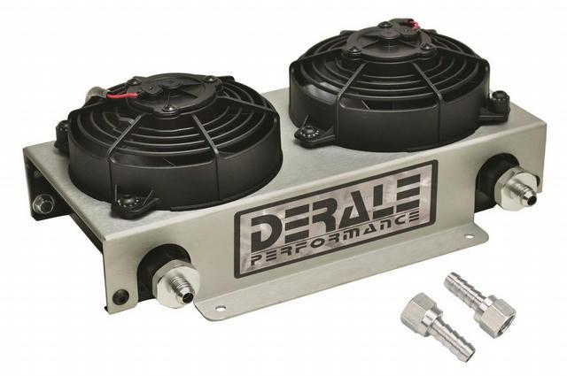 Remote Oil Cooler -6AN w/ Fan