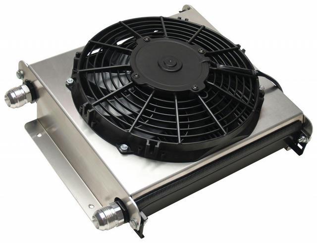 Remote Oil Cooler -12AN w/ Fan