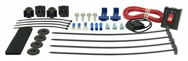 Complete Plastic Rod Mounting Kit w/Switch
