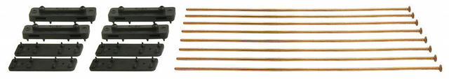 Metal Mounting Rod/Pads