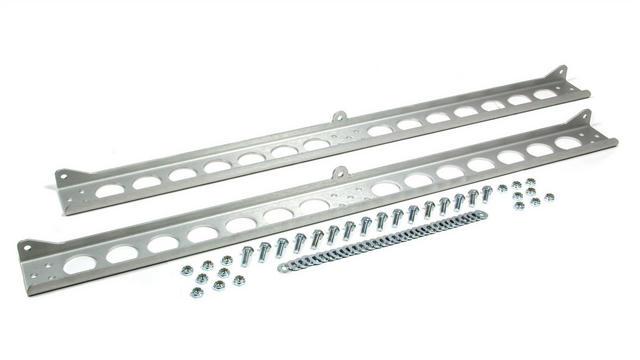 Dual Cooler Mounting Brackets Aluminum