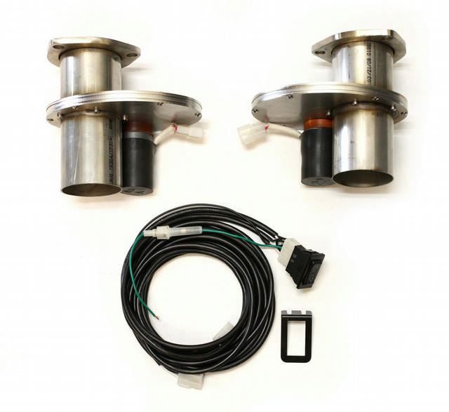 Electric Exhaust Cut-Outs - 2.50 (Pair)