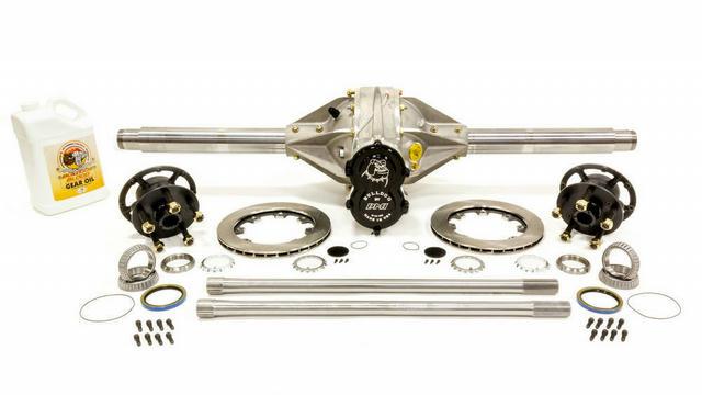 Q/C Rearend Sat 4.12 w/ Tubes Hubs Rotors Hollow