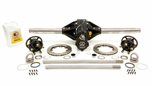 Q/C Rearend Pro 4.86 w/ Tubes Hubs Rotors Hollow