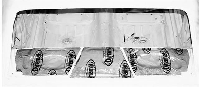 Sound Deadener Package Tray 68-72 Nova