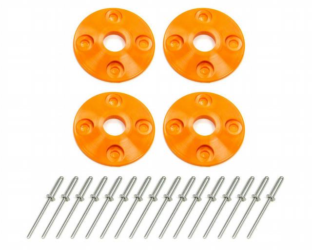 Scuff Plate Plastic 4pk Orange