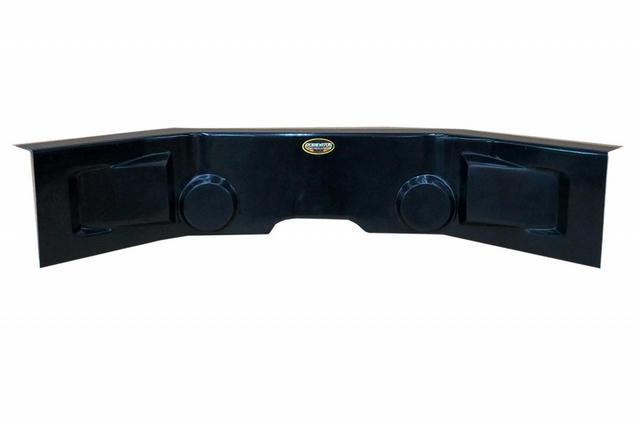 Dash Panel Flat Black 30in Wide