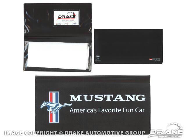 Owner-s Manual Wallet - Mustang