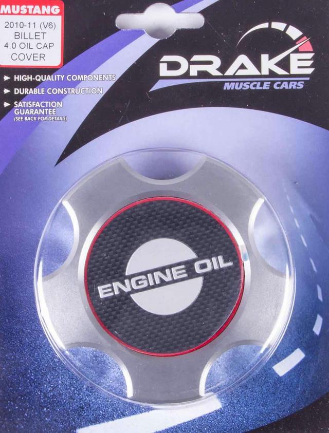 Oil Cap Cover Billet 07-14 Mustang 5.4/5.8L