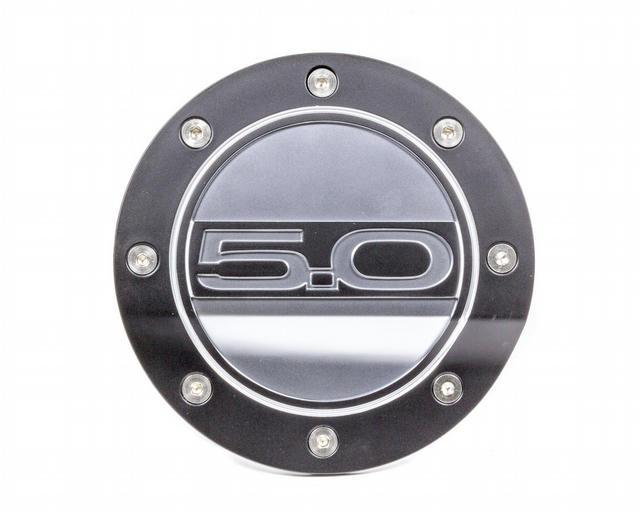 Fuel Door 5.0 Blk/Silver 15-   Mustang