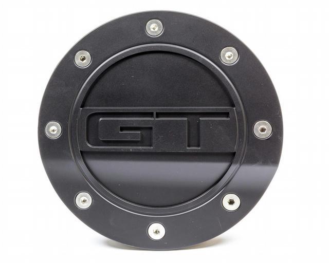 Fuel Door GT Black 15- Mustang