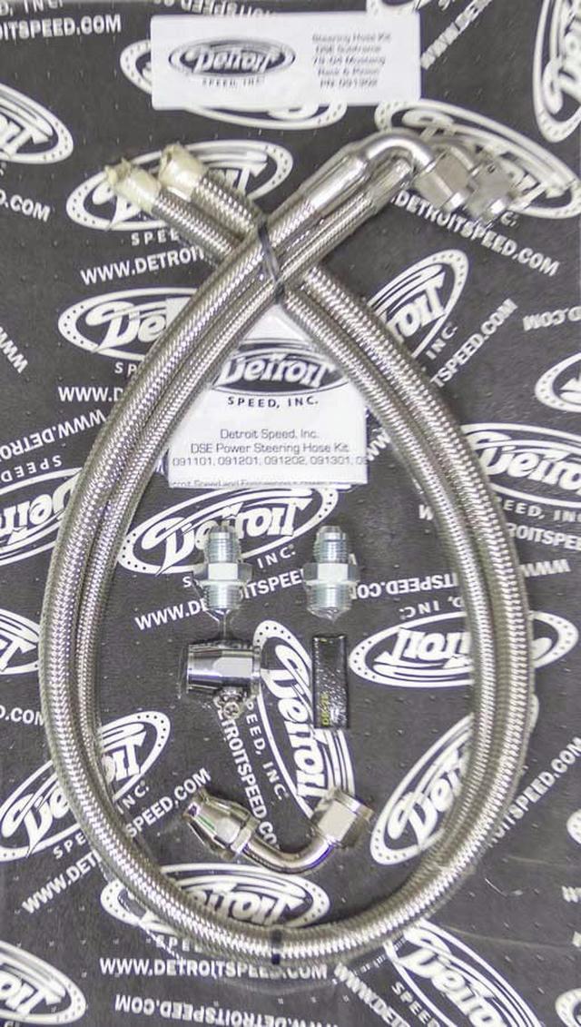 P/S Hose Kit - DSE Subframe - 79-04 Ford