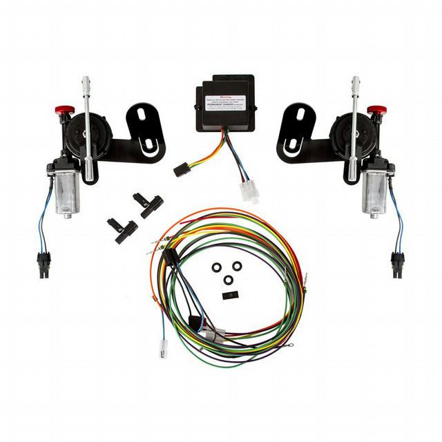 Electric RS Headlight Door Kit - 1969 Camaro